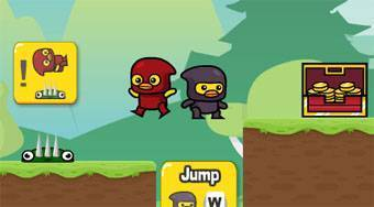 Ninja Duck Adventure - Game | Mahee.com