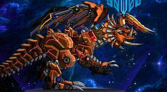 Robot Triceratops - online game | Mahee.com
