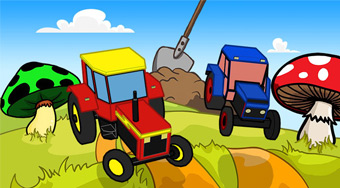 RC Tractor Kids Racing | Free online game | Mahee.com