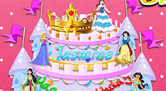 Princess Birthday Cake | Free online game | Mahee.com