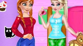 Elsa And Anna Hide And Seek - Le jeu | Mahee.fr