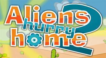 Aliens Hurry Home 2 | Free online game | Mahee.com