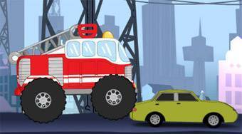 Fire Man Kids City - online game | Mahee.com