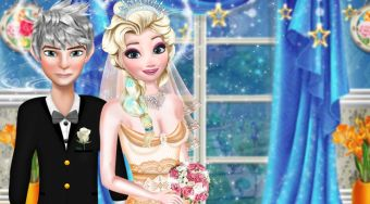 Jack And Elsa Perfect Wedding Pose - el juego online | Mahee.es