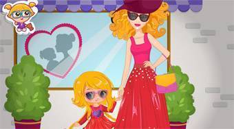 Barbie and Daughter Fashionistas | Mahee.com