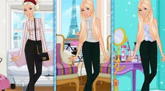 Barbie Paris vs New York | Free online game | Mahee.com