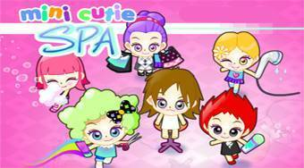 Mini Cutie Spa - online game | Mahee.com