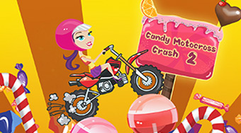 Candy Motocross Crash 2 | Free online game | Mahee.com