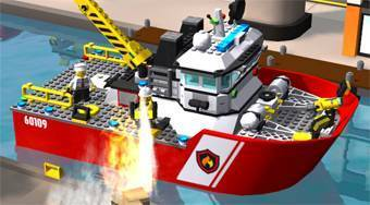 Lego City: Fire Helicopter | Mahee.fr