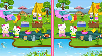 Hello Kitty Picnic Spot - Game | Mahee.com