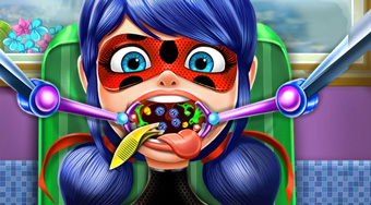 Miraculous Ladybug Throat Doctor | Free online game | Mahee.com