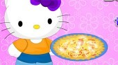 Hello Kitty Summer Tomato Pie
