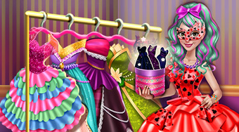 Dove Carnival Dolly Dress Up - El juego | Mahee.es