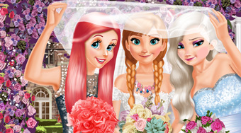 Anna And Princesses Wedding | Free online game | Mahee.com