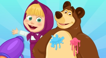 Masha And The Bear Summer Fun - El juego | Mahee.es