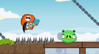 Angry Birds Punisher | Mahee.fr