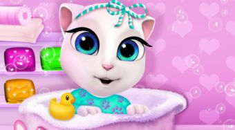 Baby Angela Nap Time - online game | Mahee.com