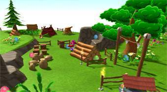 Toon Egg Hunt | Free online game | Mahee.com