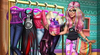 Tris Hipster Dolly Dress Up - el juego online | Mahee.es