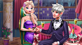 Elsa Wedding Proposal - online game | Mahee.com