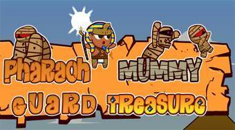 Pharaoh Mummy Guard Treasure - online game | Mahee.com