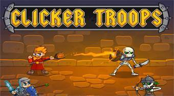 Clicker Troops - online game | Mahee.com