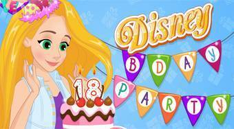 Disney Bday Party - online game | Mahee.com