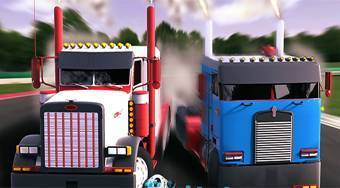 18 Wheeler Racing | Free online game | Mahee.com