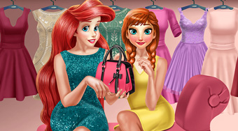 Anna And Ariel Dressing Room | Mahee.com