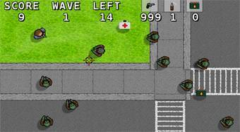 Zombie Hordes | Free online game | Mahee.com