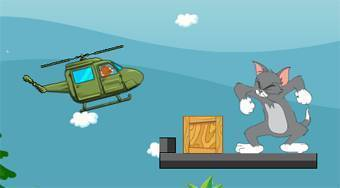 Jerry's Bombing Helicopter - online game | Mahee.com