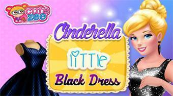 Cinderella Little Black Dress - Game | Mahee.com