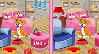 Puppy Bedroom Find 10 Diff | Mahee.fr