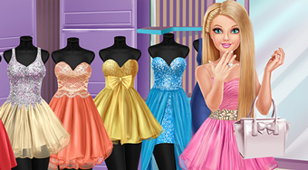Barbie Shopping Day - Game | Mahee.com