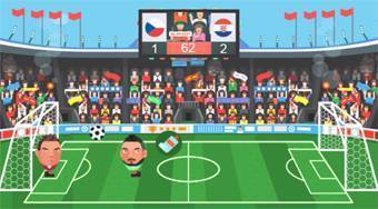 Sport Heads Football Championship 2016 - online game | Mahee.com