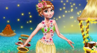 Anna Hawaii Vacation | Free online game | Mahee.com