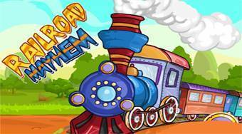 Railroad Mayhem | Free online game | Mahee.com