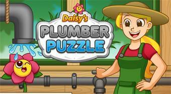 Daisy's Plumber Puzzle - online game | Mahee.com