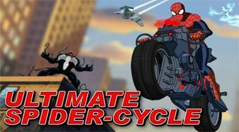 Ultimate Spider-Cycle - Le jeu | Mahee.fr