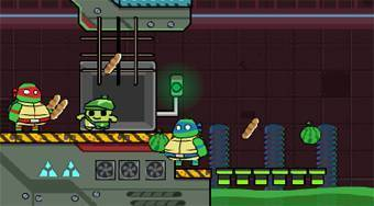 Ninja Turtles Hostage Rescue | Mahee.fr