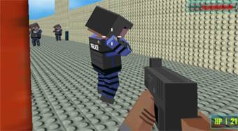 Blocky Gangster Warfare - Game | Mahee.com