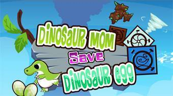 Dinosaur Mom Save Dinosaur Egg - online game | Mahee.com