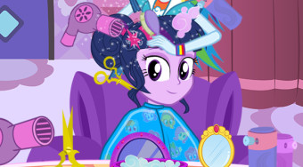 Twilight Sparkle Summer Haircuts | Free online game | Mahee.com
