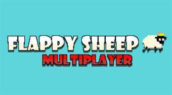 Flappy Sheep Multiplayer | Free online game | Mahee.com