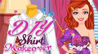 DIY Shirt Makeover - online game | Mahee.com