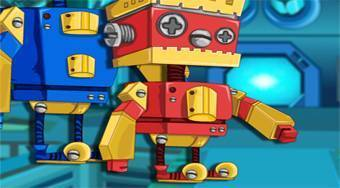 Robot Brother Lab Advanture | Mahee.com