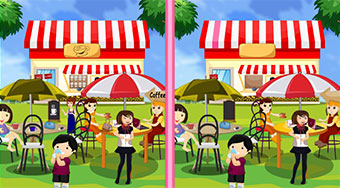 Coffee Shop Spot 10 Diff - online game | Mahee.com