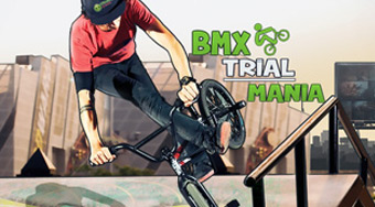 BMX Trial Mania - Game | Mahee.com