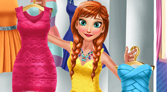 Anna Fashion Day | Free online game | Mahee.com