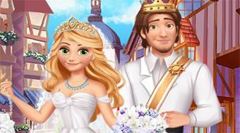 Rapunzel Medieval Wedding - online game | Mahee.com